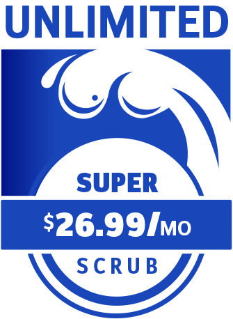 Super Scrub Unlimited Wash Package